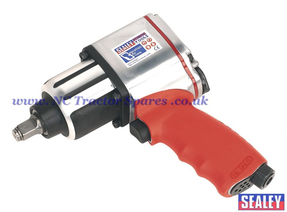 "Air Impact Wrench 1/2""Sq Drive Twin Hammer"